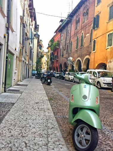 The famous italian Vespa
