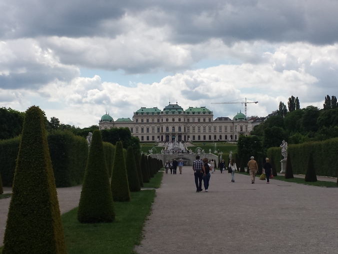Belvedere and its gardens
