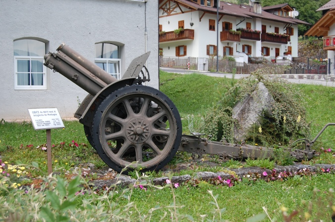 Cannon of the WWI